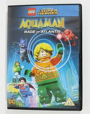 New Lego Aquaman 2018 Rage Of Atlantis Justice League Dvd Region 2 Uk - Unsealed