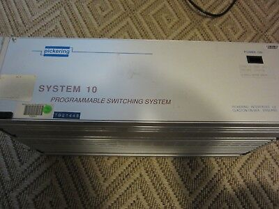 Pickering System 10 Programmable Switching System shassy with GPIB card
