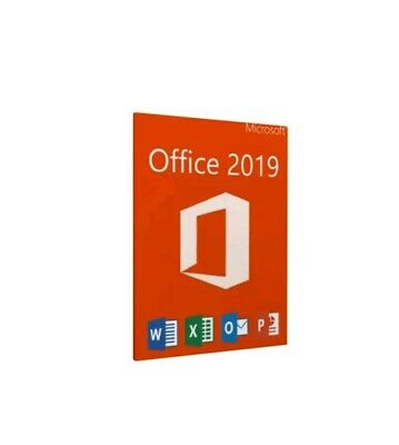 Office 2019 professional Plus Key 32 /64Bit MS Download License For 1PC Genuine