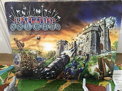 Battle Knights Castles Cannons And Catapults Battle Game Playset