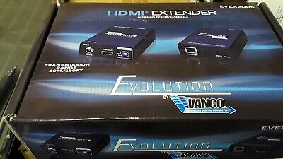 EVOLUTION BY VANCO HDMI over Single Cat5e/Cat6 Cable