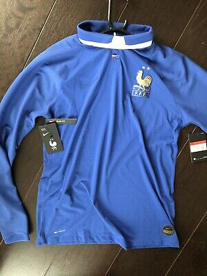 NIKE FRANCE FFF VAPOR MATCH CENTENNIAL SHIRT SMALL LIMITED EDITION AV6001-480 Fußball-Artikel