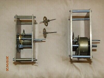 Antique, vintage mantel or wall clock movements for parts or rebuild.