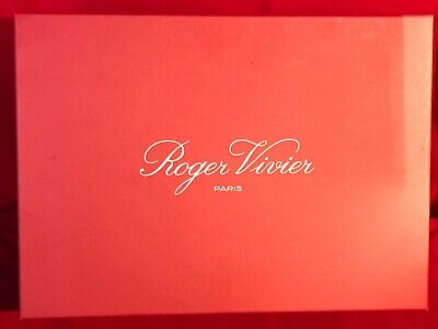 Roger Vivier - Large Authentic Super Hard Empty Gift Box