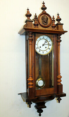 ***Antique Wall Clock Vienna Regulator 19th century ***