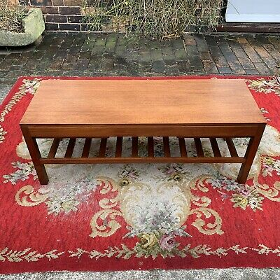 Retro Teak Coffee Table, Ranella Only At Lewis's, Lovely Condition