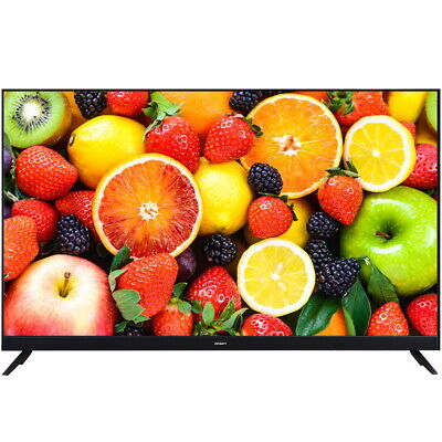 DEVANTI 65' Inch Smart TV 4K UHD HDR LED LCD Slim Thin Screen Netflix