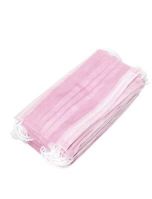Disposable Medical Mouth Face Mask Ear Loop Clinic Dental Surgical Nail Flu Safe