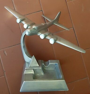 AEREO IN ALLUMINIO PIENO VINTAGE Aluminum plane Boeing B-17 Flying Fortress 1940