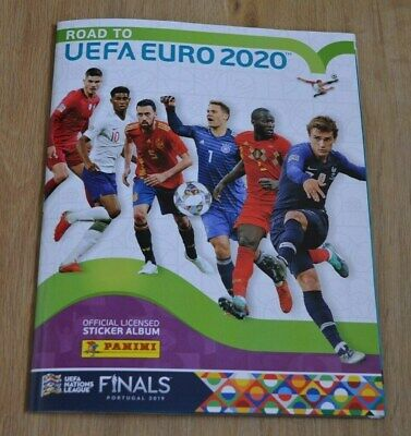 INTERNATIONALE AUSGABE 1 Album Panini Sammelsticker EURO 2020 Preview