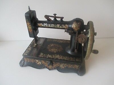 Rare 1910 New National Standard A.R. New Home sewing machine