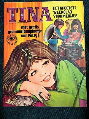 Tina Comic Girls Dutch issue 52 1972 in great condition