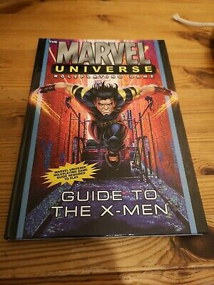 MARVEL UNIVERSE ROLEPLAYING Game Guide Hardcover (GN172