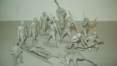 Lot of original,vintage Marx Battle of the Blue and Gray Centenial Confederates