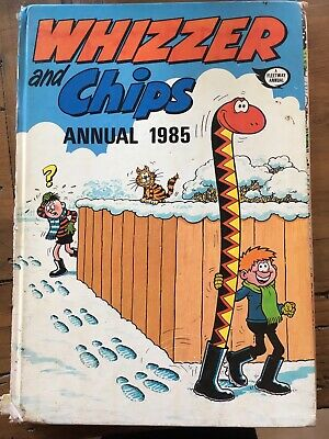 Whizzer and Chips Annual 1985.