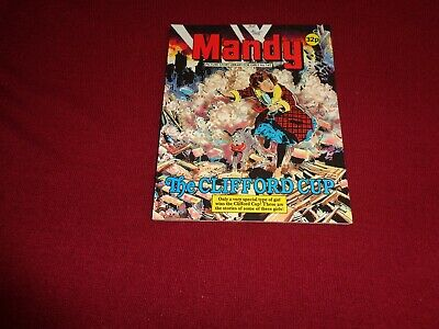 RARE MANDY PICTURE STORY LIBRARY BOOK from the 1980's: never read! ex condit!