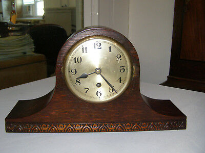 Antique German exceptional mantel clock. Maker unknown. Time only, runs well