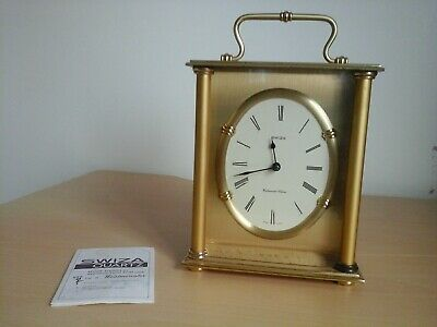 Vintage SWIZA Quartz Heavy Brass Swiss Made with Westminster chime