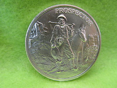 1 oz provident prospector silver round, nicest silver round made