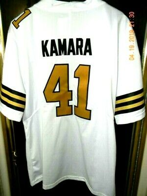 hot sale online 6a321 e979b NWOT ALVIN KAMARA #41 New Orleans Saints All Sewn COLOR RUSH JERSEY, SIZE  MEDIUM
