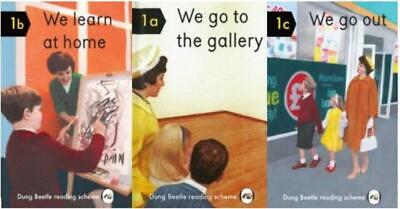 3 x Adult Stocking Filler Books Humorous We Go Out /Learn At Home/ Go To Gallery