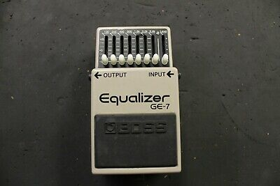 Boss GE-7 Equalizer Guitar Effect Pedal