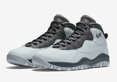 newest 3cf2f 49ca5 Nike Air Jordan Retro 10 Pltnm-310805 004 London City Pack Uk 6.5 Eu 40