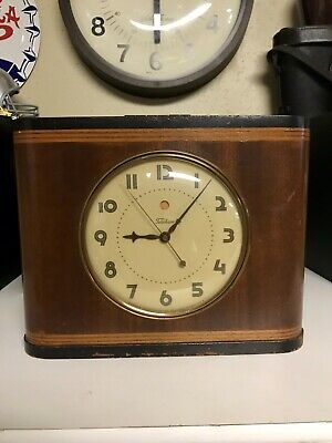 Vintage clock Telechron mantel clock model 6b01