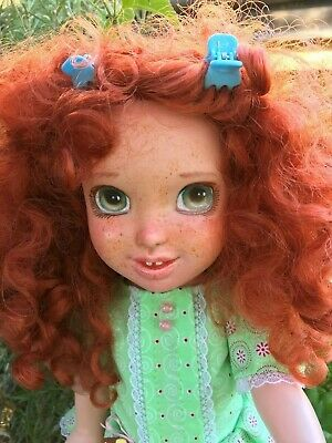Dolls Disney Princess Merida Brave Custom Doll Ooak By Lavender6doll Art Dolls-ooak