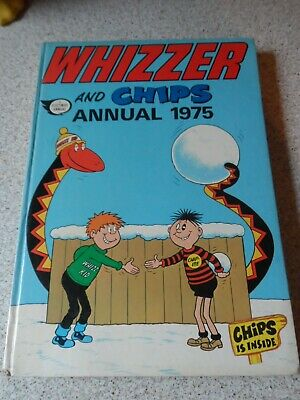The Whizzer And Chips Annual 1975 X VERY GOOD CONDITION FOR ITS AGE