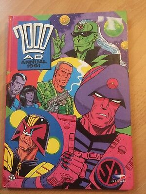 2000 ad annual 1991 very good condition