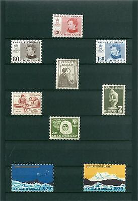 Greenland 1979 - Nice Lot - Mint Never Hinged