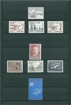 Greenland 1984 - Nice Lot - Mint Never Hinged