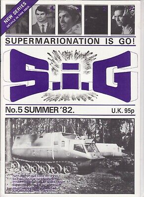 Gerry Anderson S.i.g Mag # 5 Ufo Shane Rimmer Tv 21 Jan King Barry Gray Itc