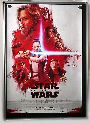 Star Wars Episode VIII The Last Jedi International Original 27x40 Movie Poster A