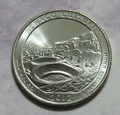 2012-D 25C Chaco Culture New Mexico National Parks America the Beautiful Quarter