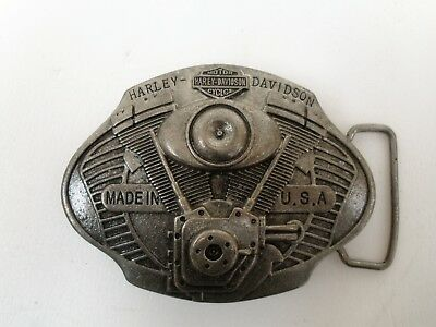 Harley Davidson Motorcycle cast Metal Belt Buckle