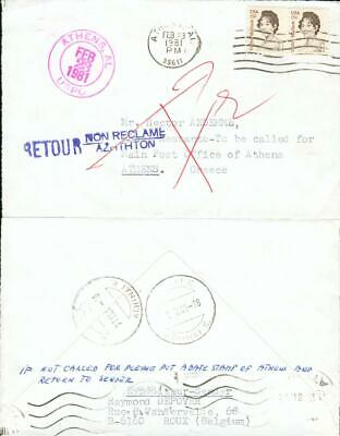 USA Greece special 2 state cover Athens Athen gx63