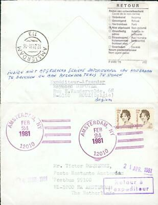 USA Netherlands special 2 state cover Amsterdam gx90