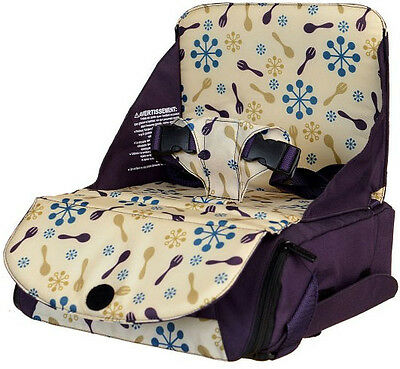 Munchkin Travel Booster Seat - Purple ***BNWOT never used***