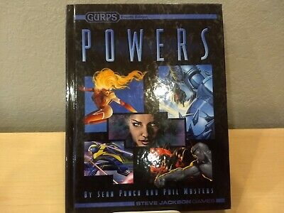 GURPS 4TH EDITION: Psionic Powers Sourcebook - $67 99 | PicClick