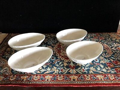 "Coalport Countryware Avocado Bowl  5 1/2"" Set Of 4 Bowls - Excellent"