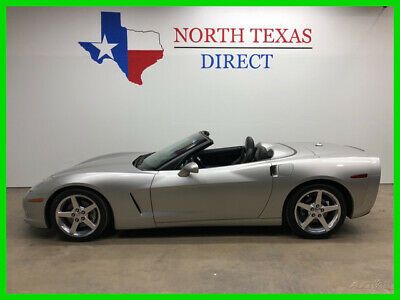 2005 Chevrolet Corvette LT3 Convertible LS2 V8 Gps Nav Heated Leather Head 2005 LT3 Convertible LS2 V8 Gps Nav Heated Leather Head Used 6L V8 16V Automatic