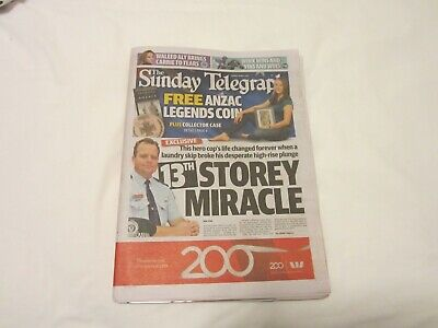 Sunday Telegraph Sydney New South Wales Australia Newspaper with inserts adverts
