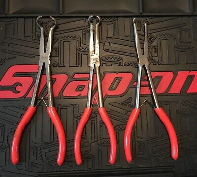 MATCO TOOLS  LONG REACH HOSE PLIERS SET 3pc