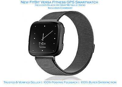 FitBit Versa | GPS Fitness Smartwatch | New | Accessories