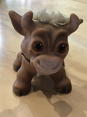 Dam Things Troll Cow 1960s Good Original Condition