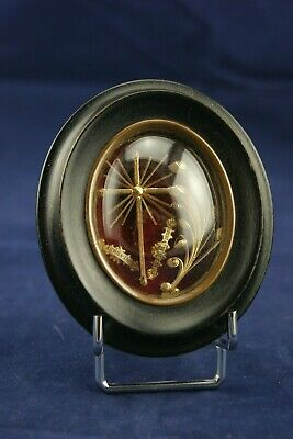 † c.1905 BLESSED JOHN VIANNEY 1 RELIQUARY THE CURE OF ARS PARISH RELIC FRANCE †