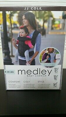 f41fa231037 JJ Cole Medley Baby Infant Carrier Black Foursquare New in Box