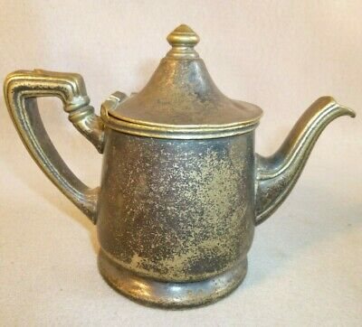 Reed & Barton Teapot Silver Soldered 2300C 1P 550 GRANT Coffee Antique 1951 Bell